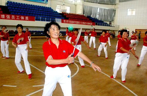 柔力球健身课程教学